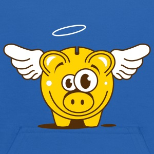 A funny piggy bank with wings  Sweatshirts - Kids' Hoodie