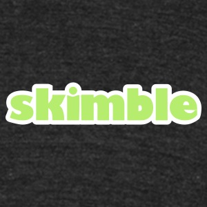 Skimble Workout Trainer Men's Vintage Tee - Unisex Tri-Blend T-Shirt by American Apparel