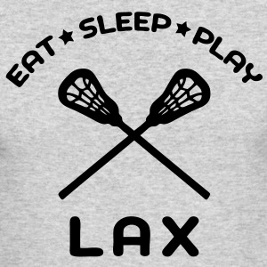 Eat, Sleep, Play Lacrosse Long Sleeve Shirts - Men's Long Sleeve T-Shirt by Next Level