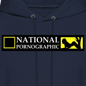National Pornographic Hoodies - Men's Hoodie