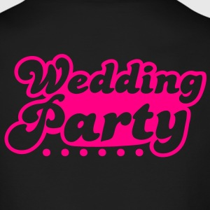 wedding party in pink Long Sleeve Shirts - Men's Long Sleeve T-Shirt by Next Level