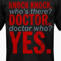 Doctor Who Knock Knock Joke T-Shirts