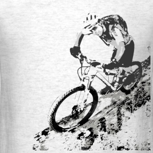 Mountain biker - Men's T-Shirt