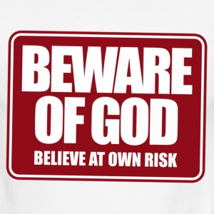 Beware of god - Men's Ringer T-Shirt