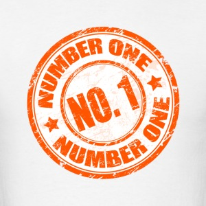 Number One Shirt - Men's T-Shirt