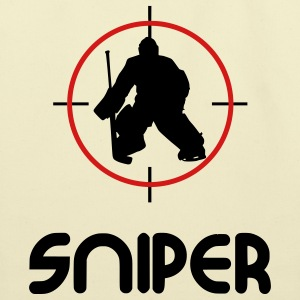 Sniper (hockey) Bags  - Eco-Friendly Cotton Tote