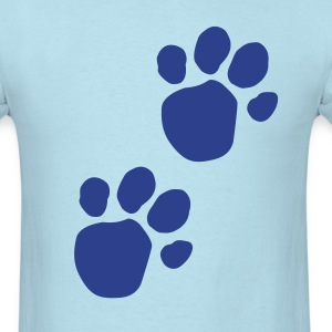 Blues Clues (Dog Pawprint) T-Shirts - Men's T-Shirt