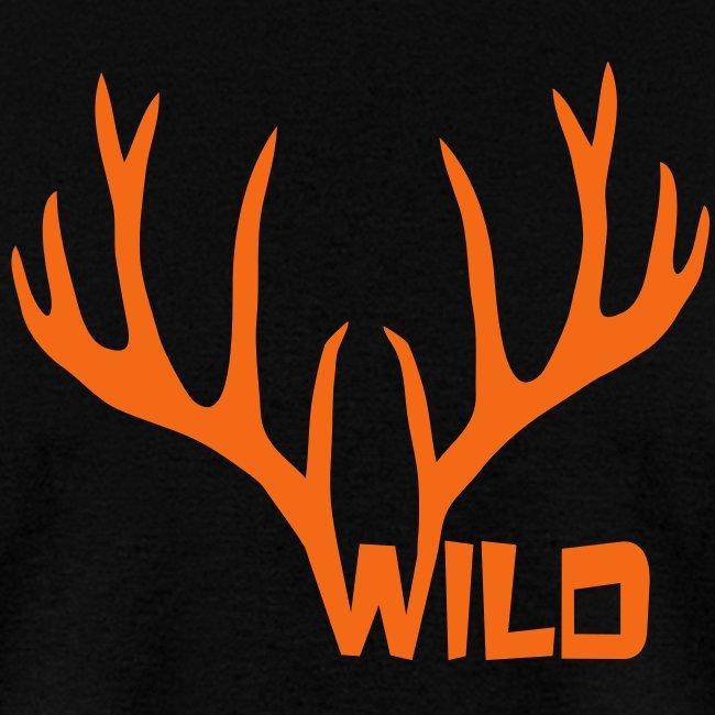 t-shirt wild stag deer moose elk antler antlers horn horns cervine hart bachelor party night hunter hunting