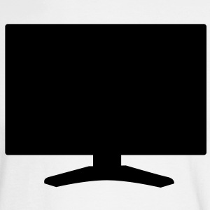 basic TV television flatscreen Long Sleeve Shirts - Men's Long Sleeve T-Shirt