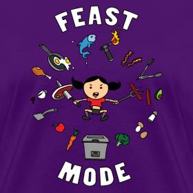 Design ~ Feast Mode (Regular Cut)