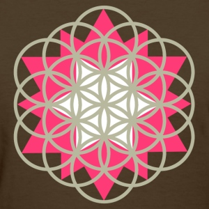 flower of life star Women's T-Shirts - Women's T-Shirt