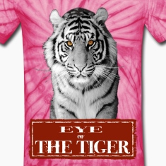 Eye of the Tiger White T-Shirts