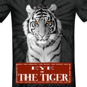 Eye of the Tiger White T-Shirts - Unisex Tie Dye T-Shirt