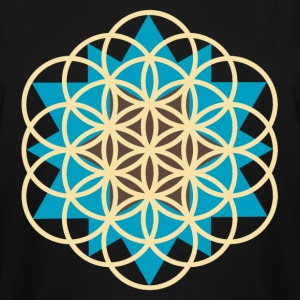 flower of life star T-Shirts - Men's Tall T-Shirt