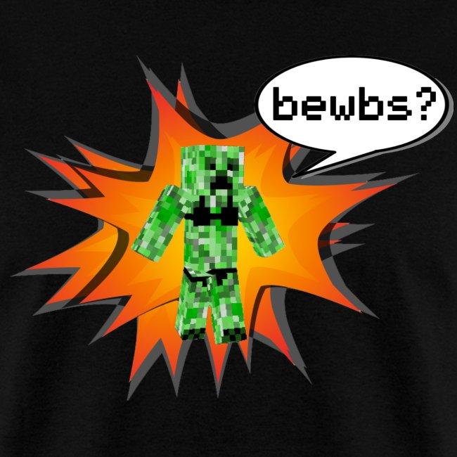 Mens Tee : Bewbs?