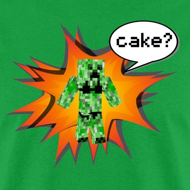 Mens Tee : Cake?
