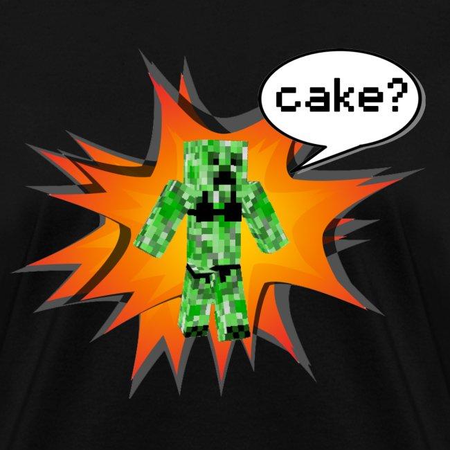 Womens Tee : Cake?
