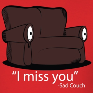 Sad Couch - Men's T-Shirt