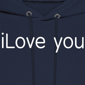 i love you Hoodies - Men's Hoodie