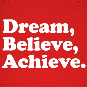dream believe achieve Caps - Baseball Cap