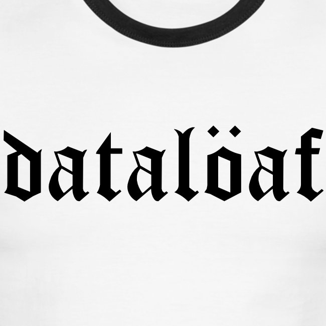dataloaf gothic text