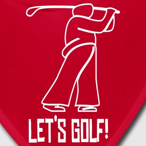 Let's Golf! Caps - Bandana