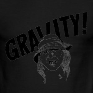 Gravity, ringer, images on both sides - Men's Ringer T-Shirt