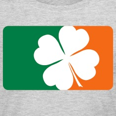 Shamrock Flag Long Sleeve Shirts