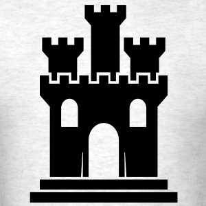 castle T-Shirts - Men's T-Shirt
