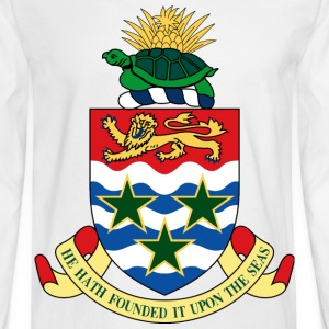 Crest Cayman Islands (dd)++ Long Sleeve Shirts - Men's Long Sleeve T-Shirt