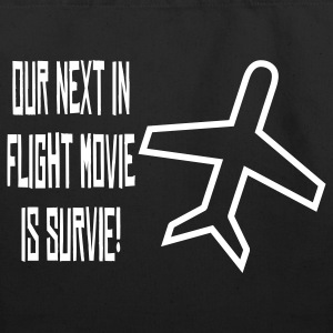 our_next_in_flight_movie_survie Bags  - Eco-Friendly Cotton Tote