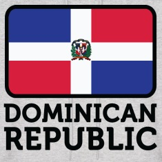 Flag Dominican Republic 2 (dd)++ Hoodies