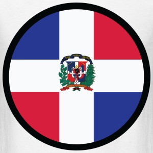Circle Dominican Republic (dd)++ T-Shirts - Men's T-Shirt