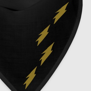 unique lightning pattern vector art Bandana - Bandana