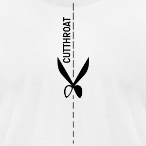 Cut Throat T-Shirts - Men's T-Shirt by American Apparel