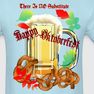 Beer and Pretels-There Is NO Substitute - Men's T-Shirt