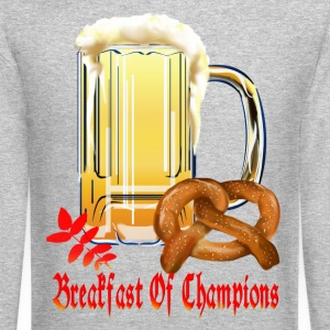 Breakfast Of Champions-Happy Oktoberfest! - Crewneck Sweatshirt