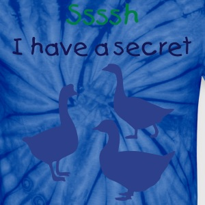 A secret - Unisex Tie Dye T-Shirt
