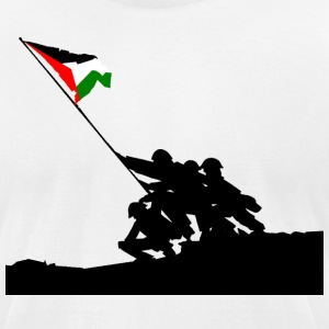 Palestinian State T-Shirts - Men's T-Shirt by American Apparel