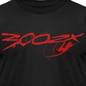 Plain 300zx blood - Men's T-Shirt by American Apparel