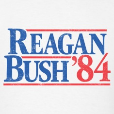 Reagan Bush '84 Vintage T-Shirt
