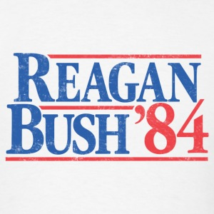 Reagan Bush '84 Vintage T-Shirt - Men's T-Shirt