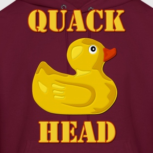 Quack Head, Duck Lover Hoodies - Men's Hoodie