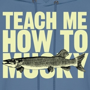 Men's hoodie Teach Me How To Musky | Digimani - Men's Hoodie