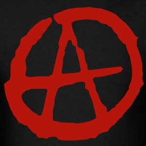 Anarchy Symbol T-Shirts - Men's T-Shirt