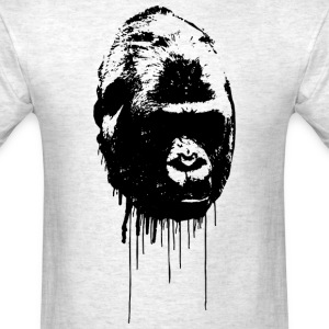 Gorilla Graffiti T-Shirts - Men's T-Shirt