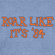 Design ~ Roar Like It's '84