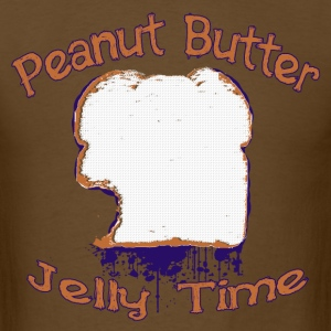 Peanut Butter Jelly Time T-Shirts - Men's T-Shirt