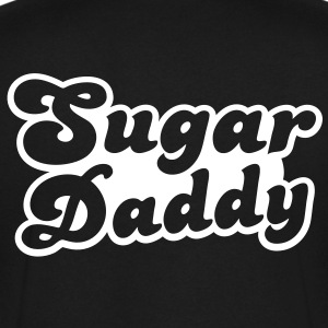 Sugar Daddy in cute font T-Shirts - Men's V-Neck T-Shirt by Canvas