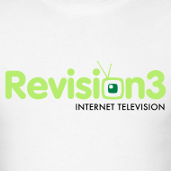 Design ~ Men's Revision3 White Tee
